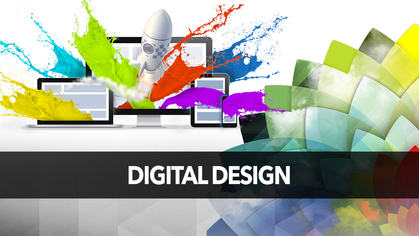 A digital depiction of digital design